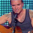 Rémi dans La France a un incroyable talent sur M6, le mardi 23 décembre 2014.