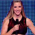 Claire dans La France a un incroyable talent sur M6, le mardi 23 décembre 2014.