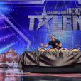 George dans La France a un incroyable talent sur M6, le mardi 23 décembre 2014.
