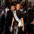 Camille Cerf, Miss France 2015 à la 16ème édition des NRJ Music Awards à Cannes. Le 13 décembre 2014