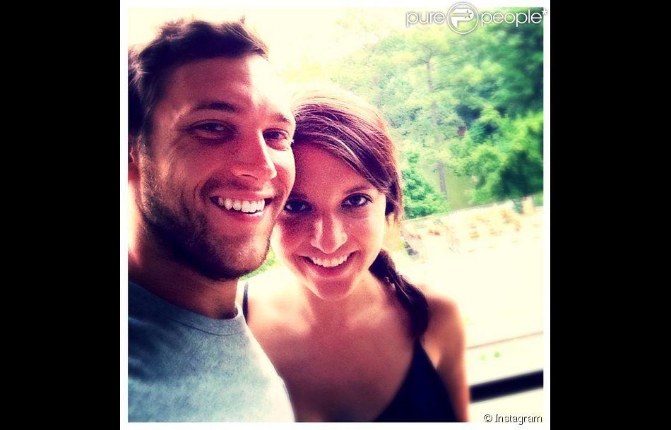 Phillip Phillips et Hannah Blackwell ont annoncé le 26 décembre 2014 leurs fiançailles. Photo publiée le 15 septembre 2014 par Hannah Blackwell sur Instagram.