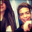 Ronald, le fils de Ronaldo, avec sa petite amie Manuela Escobar.