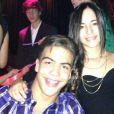 Ronald, le fils de Ronaldo, avec sa compagne Manuela Escobar.