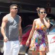 Ronaldo et Paula Morais le 16 juillet 2013 à Ibiza
