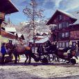 Un matin à Gstaad, décembre 2014.