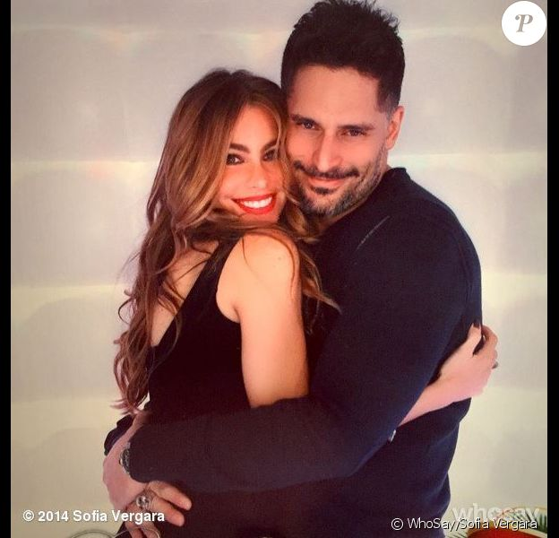 Sofia Vergara et Joe Manganiello, photo postée le 28 décembre 2014