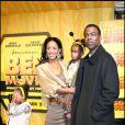 Chris Rock et sa femme Malaak et leurs deux filles Zahra et Lola à la première du film Bee Movie le 25 octobre 2007