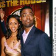 Chris Rock et sa femme à la première du film Head Of State le 27 mars 2003