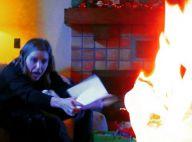 Sophia Bush: Un de ses cadeaux prend feu à Noël, elle publie les photos du drame