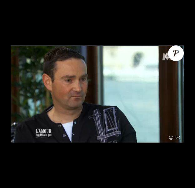 """Thierry et Aurélie en speed dating dans """"L'amour est dans le pré 2014"""", sur M6, le lundi 23 juin 2014"""