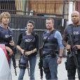 """Chris O'Donnell, Daniela Ruah, Eric Christian Olsen, LL Cool J dans la saison 5 de """"NCIS : Los Angeles"""" (2013-2014)."""