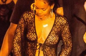 Rihanna : Dénudée pour une soirée sur un yacht, ses seins sur Instagram