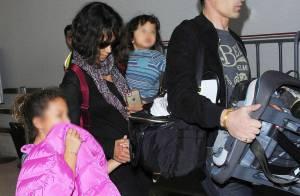 Halle Berry : Retour à la maison avec Macéo, tendres retrouvailles avec Nahla