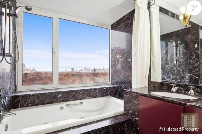 La salle de bain du duplex de yannick noah avec vue for La salle de bain du titanic