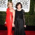 Jane Fonda, Lily Tomlin a La 72ème cérémonie annuelle des Golden Globe Awards à Beverly Hills, le 11 janvier 2015.