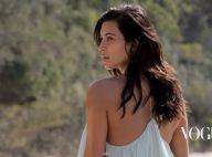 Kim Kardashian en Vogue : Shooting naturel, elle resplendit à la plage !
