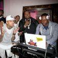 Chris Brown, à la soirée Christmas with the Kingstons à Los Angeles, le 27 décembre 2014