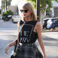 Taylor Swift est allée faire du shopping à Fred Segal à West Hollywood, le 22 novembre 2014