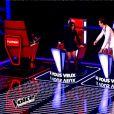 Jenifer et Mika prêts à se battre pour Manon Palmer dans The Voice 4, le samedi 17 janvier 2015, sur TF1