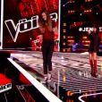Jenifer récupère Manon Palmer dans sa team dans The Voice 4, le samedi 17 janvier 2015, sur TF1