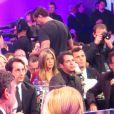 Exclusif - Angelina Jolie et Jennifer Aniston assises à 3 tables d'écart lors de la cérémonie des Critics Choice Awards à Hollywood, le 15 janvier 2015. C'est la première fois que les deux femmes assistent au même évènement en 6 ans !