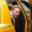 Ian Ziering sur le tournage de Sharknado 2 à New York, le 19 février 2014.