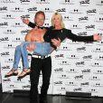 Tara Reid vient voir Ian Ziering qui est de retour au Chippendales Theater à Las Vegas, le 22 juin 2014.