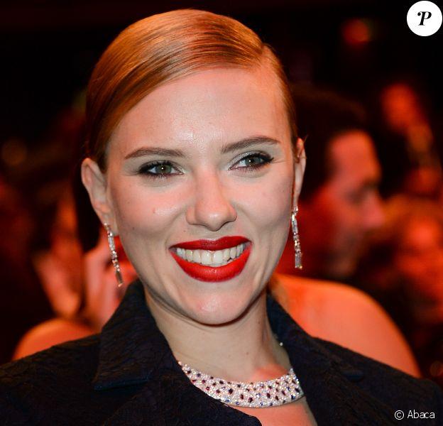 Scarlett Johansson à Paris, le 28 février 2014.