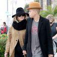 Ashlee Simpson (enceinte) et son mari Evan Ross se baladent dans Los Angeles, le 20 janvier 2015