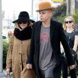 Ashlee Simpson (enceinte) et son mari Evan Ross se baladent dans les rues de Los Angeles, le 20 janvier 2015