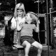 Lady Diana Spencer et son frère Charles, enfants, en août 1967 à Sandringham