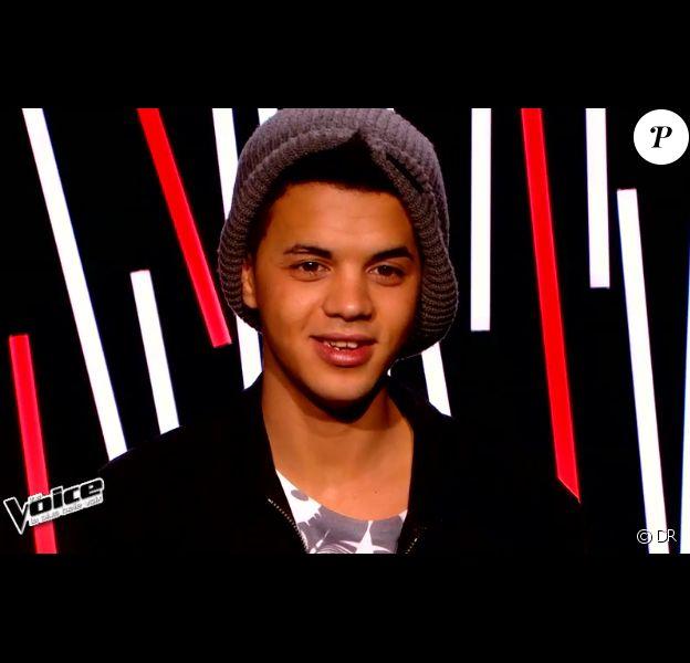 Yann'sine dans The Voice 4, le samedi 17 janvier 2015, sur TF1