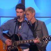 The Voice 4 : David Thibault, mini-Elvis, a fait le show chez Ellen Degeneres !
