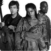 Rihanna dévoile 'FourFiveSeconds' en duo avec avec Paul McCartney et Kanye West