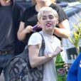 Miley Cyrus le 21 janvier 2015 à Los Angeles