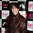 Justin Bieber lors d'une séance de dédicaces à Londres le 18 janvier 2010