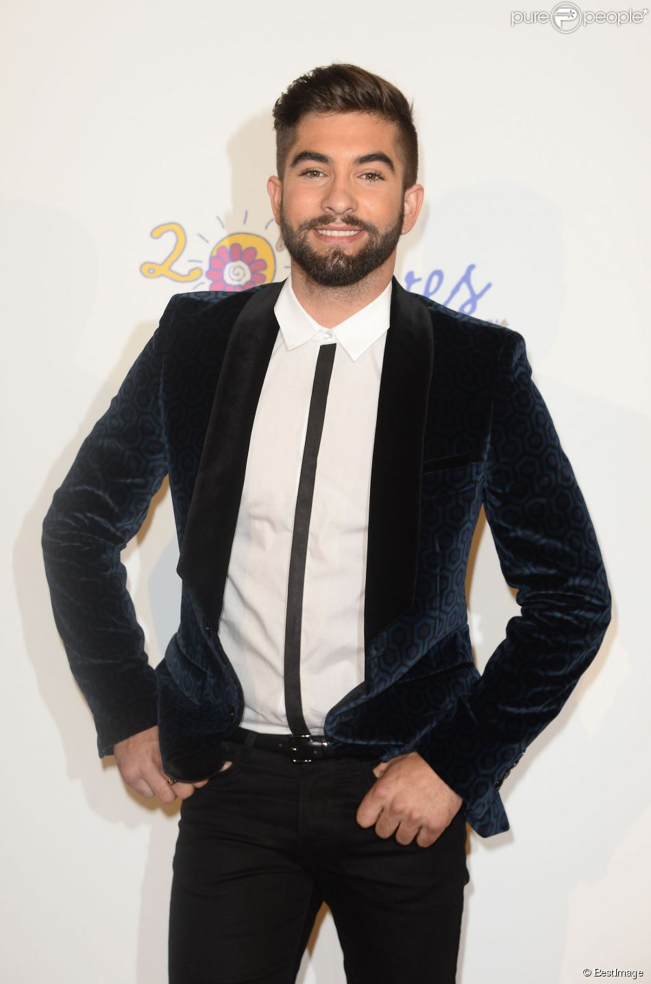 Kendji Girac participe au concert We Love Disney Live au profit de l'association Rêves au Grand Rex à Paris le 3 novembre 2014.