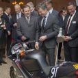 Le prince Frederik de Danemark remettait les prix du Danish Tech Challenge le 29 janvier 2015 à Copenhague