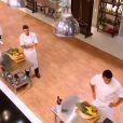 Philippe Etchebest se confronte aux candidats de  Top Chef 2015  sur M6. Emission du 2 février.