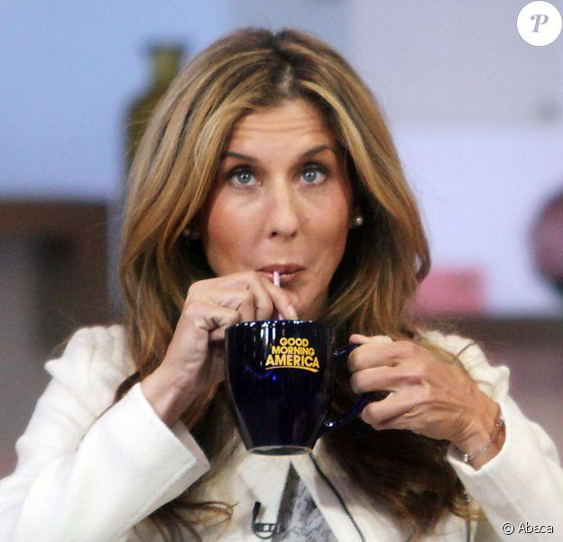 L'ex-tenniswoman Monica Seles dans 'Good Morning America' à New York le 29 janvier 2015.