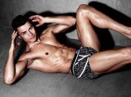 Cristiano Ronaldo dénudé : Mucles et sous-vêtements, la star joue les égéries