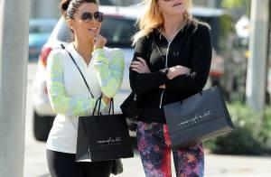 Eva Longoria : Séance shopping et câlins avec sa copine Melanie Griffith