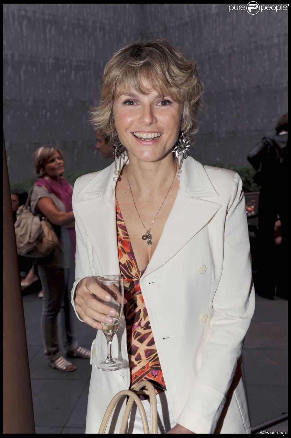 Alexandra Bronkers à Paris en novembre 2009.