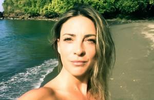 Eve Angeli topless en Guadeloupe : la star enchaîne les poses sexy sur la plage