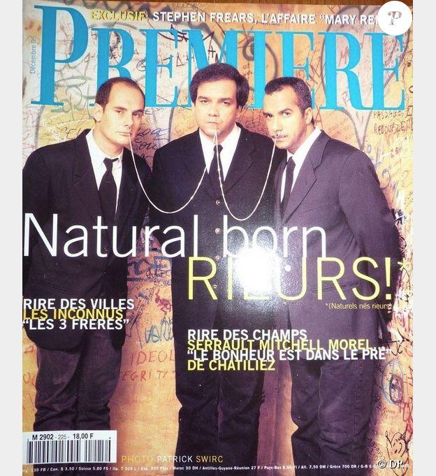 Magazine cinéma Première N°225 décembre 1995 avec Les inconnus
