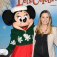 Beverley Mitchell au spectacle Let's Celebrate!  by Disney On Ice à Los Angeles, le 11 décembre 2014