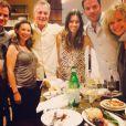 Le cast de 7 à la maison s'est réuni pour un repas décontracté le 16 septembre 2014