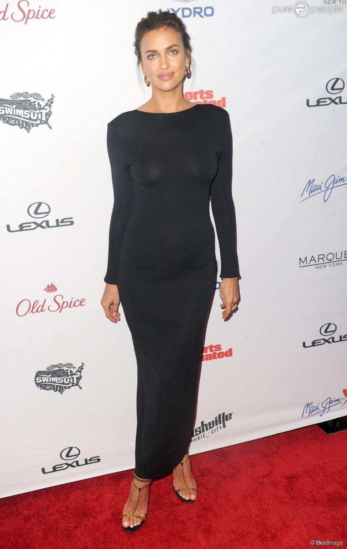 Irina Shayk - People à l'évènement organisé pour la sortie de Sport Illustrated Swimsuit à New York, le 10 février 2015.