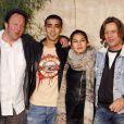 CHristophe Douchand, Mhamed Arezki, Elodie Yung et Luc Thuillier des Bleus, premiers pas dans la police