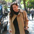 Liv Tyler (enceinte) se promène dans les rues de New York. Le 3 novembre 2014